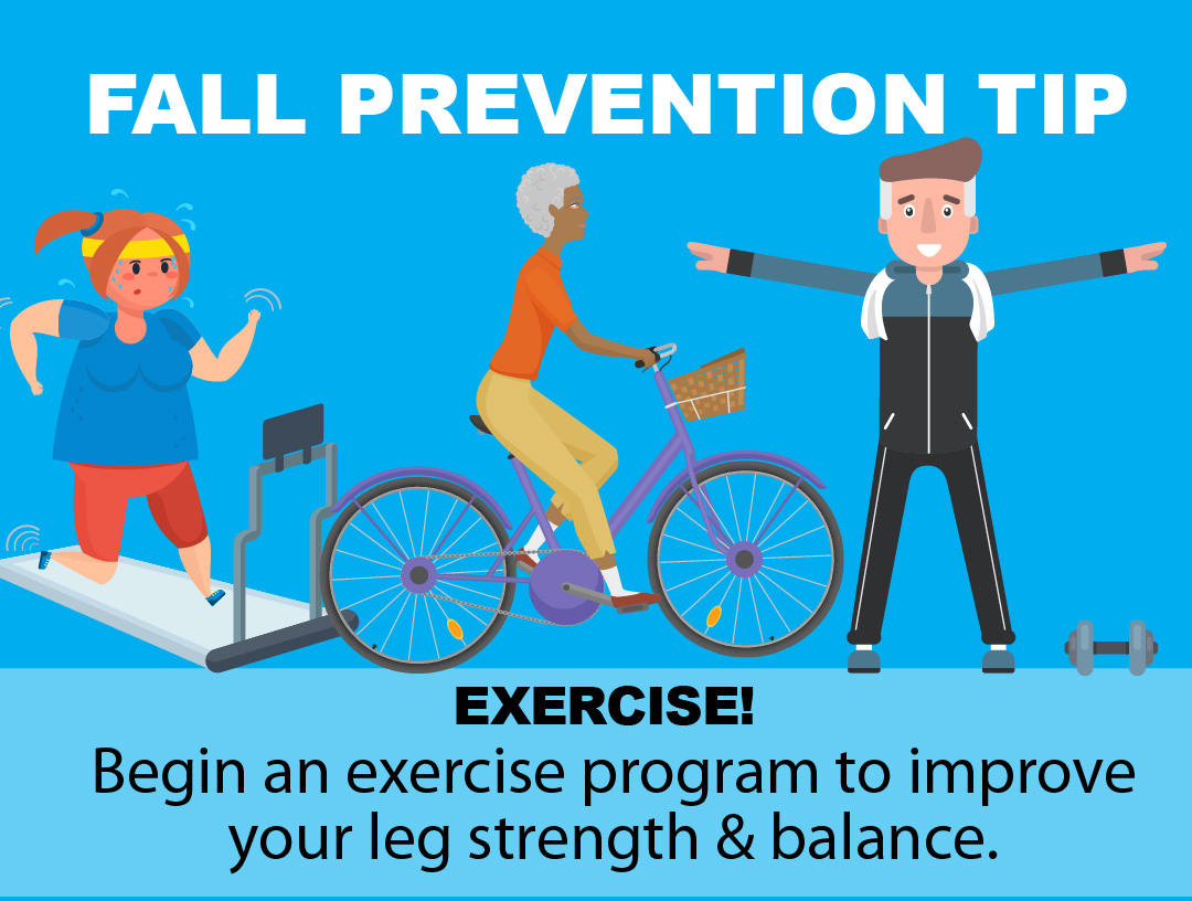 Fall Prevention Tip - Exercise