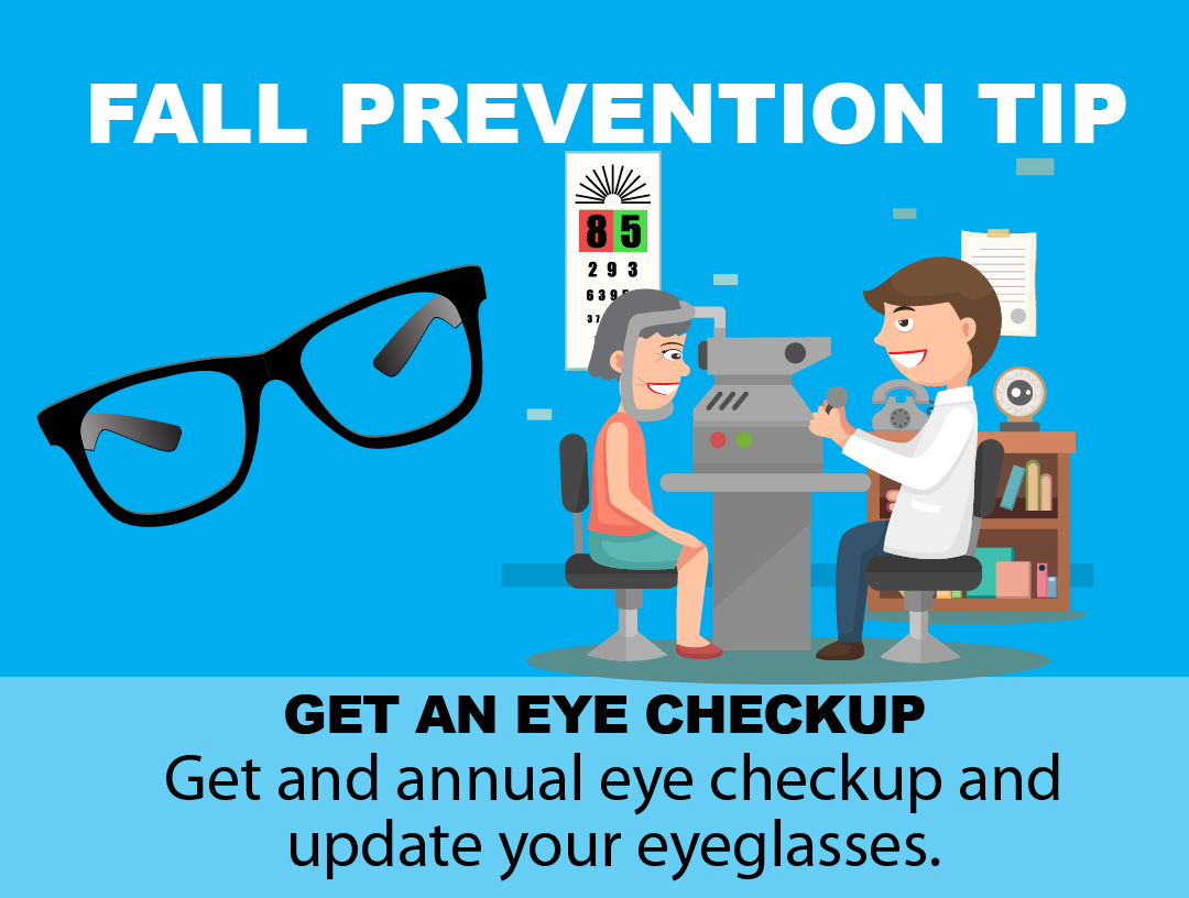 Fall Prevention Tip - Eye Glasses