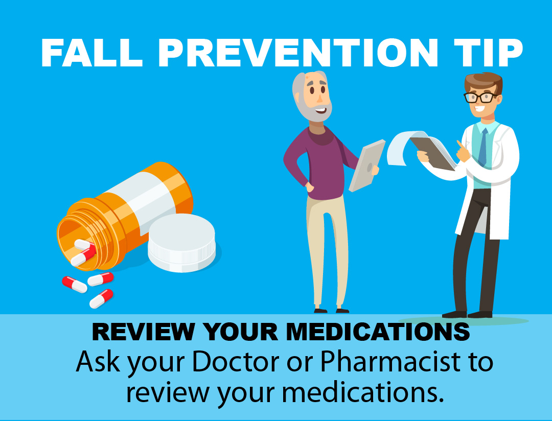 Fall Prevention Tip - Medications