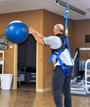 Safety Overhead System for Physical Therapy & Balance